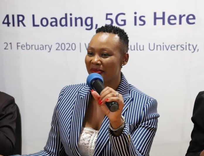Minister of DCDT Stella Ndabeni-Abrahams